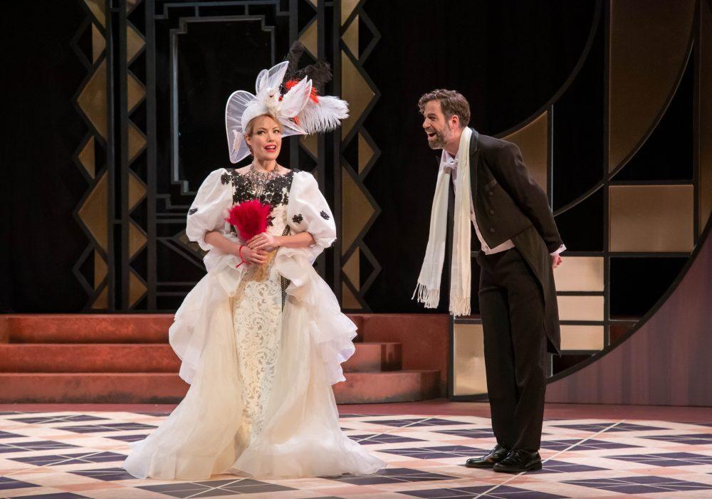 Jessica Sandidge and Jonathan Beyer in Act I