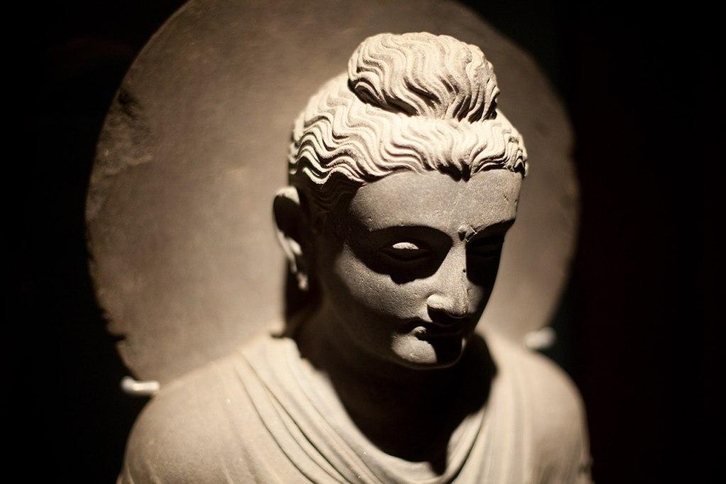Buddha from Gandhara (via Wikimedia Commons)