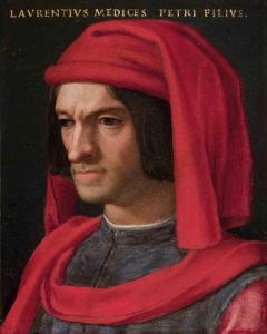 Lorenzo the Magnificent, Agnolo Bronzino, ca 1555-56