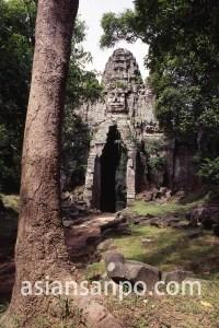 カンボジア アンコール・トム西門