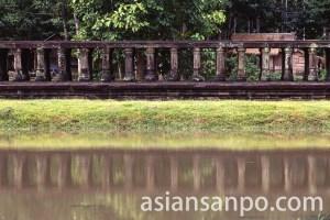 カンボジア アンコール遺跡のバプーオン