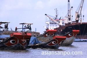 ベトナム ホーチミン・サイゴン港