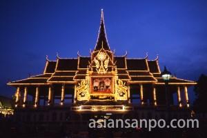 カンボジア プノンペン・王宮