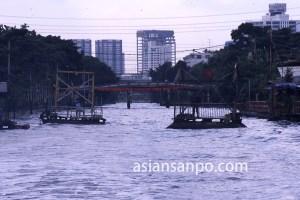 タイ バンコクのサンサップ運河