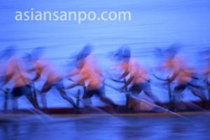 カンボジア プノンペン・ドラゴンボート