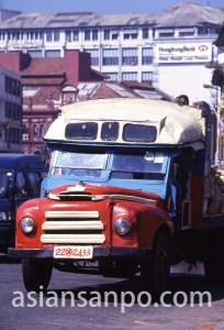 スリランカ コロンボ・バス