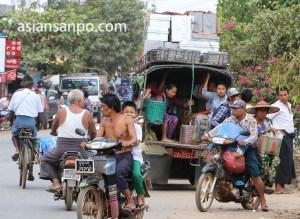 ミャンマー Nyaunglebin