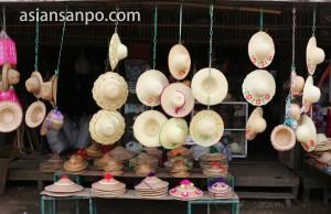 ミャンマー Nyaunglebin 帽子