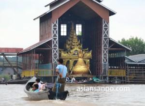 ミャンマー インレー湖 ファウンドーウーパヤー