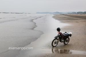 ミャンマー サッセ バイク