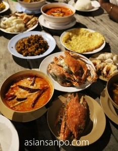 ミャンマー メルギー諸島 HorseShoe島 夕食