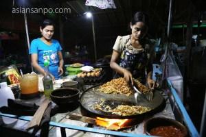 ミャンマー コータウン 屋台