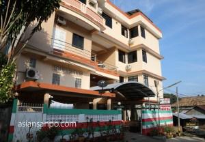 ミャンマー コータウン ペンギンホテル