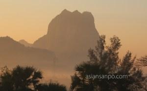 ミャンマー パアン ヅウェカビン山