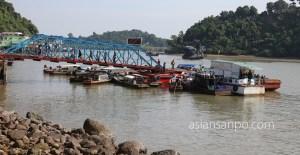 ミャンマー コータウン フェリー