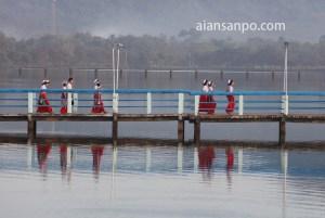 ミャンマー パアン カンターヤー湖
