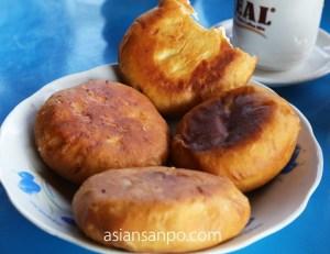 ミャンマー ラヘー ナガ族 揚げパン