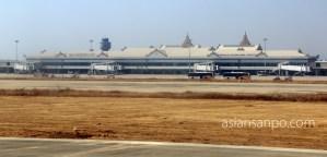ミャンマー マンダレー空港
