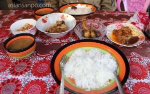 ミャンマー ラヘー食事