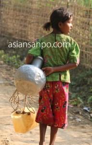 ミャンマー ミャウーーアン イスラム教 村
