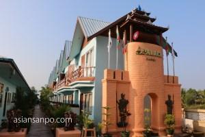 ミャンマー チャオピュー ホテル