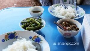 ミャンマー ラヘー ナガ族 食事