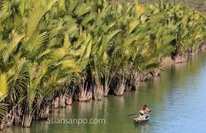ミャンマー アンーミャウー 川