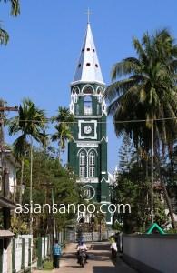 ミャンマー パテイン 教会