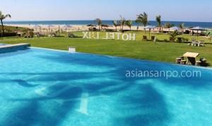 ミャンマー グエサウン ビーチ プール