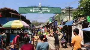 ミャンマー タム インド国境