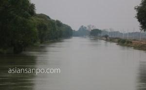 ミャンマー シュエボーーカレイワ 灌漑