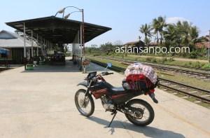 ミャンマー カタ-ミッチーナ 駅