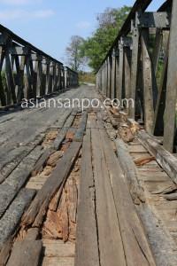 ミャンマー カレイミョーータム 橋