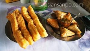 ミャンマー カレイワ 揚げパン