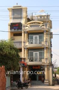 ミャンマー シュエボー ホテル