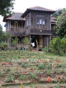 ミャンマー カタ 家