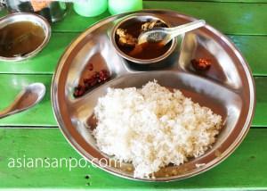 ミャンマー タム インド国境 インド料理