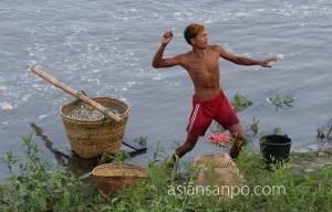 ミャンマー カタ エーヤワディー川