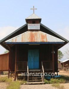 ミャンマー カレイミョーータム インド 友好道路 教会