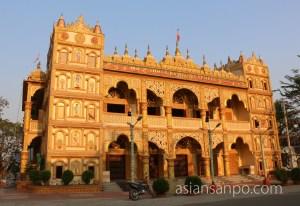 ミャンマー ミッチーナ ヒンズー寺院