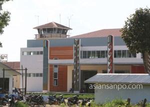 ミャンマー ミッチーナ空港