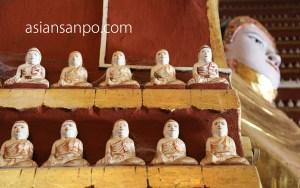 ミャンマー モンユワ タウンボッデー寺院