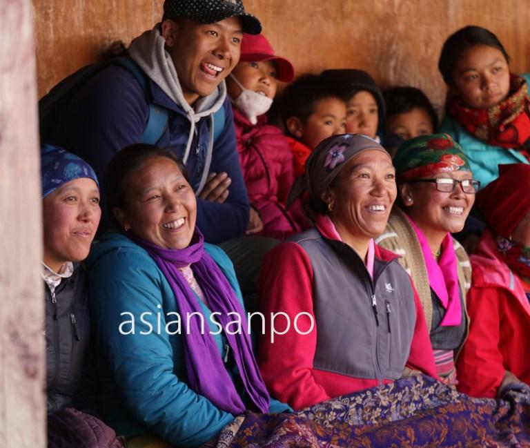 ネパール エベレスト街道 タンボチェ マニ・リンドゥ