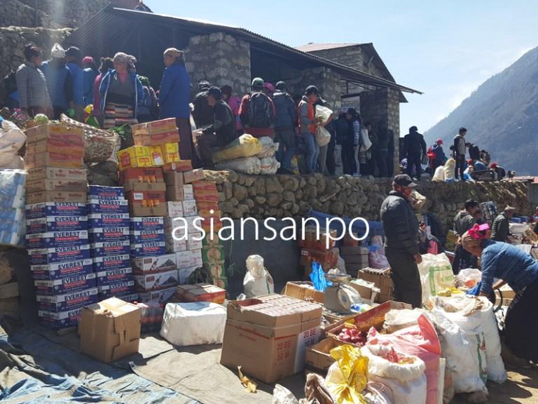 ネパール エベレスト街道 ナムチェバザール