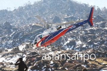 ネパール エベレスト街道 クンデ 遭難
