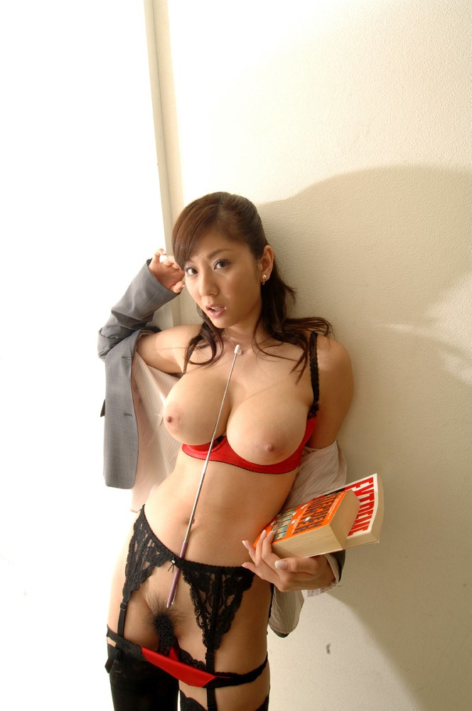 Japanese Girl With Huge Boobs And Very Hairy Pussy In Sexy -3736