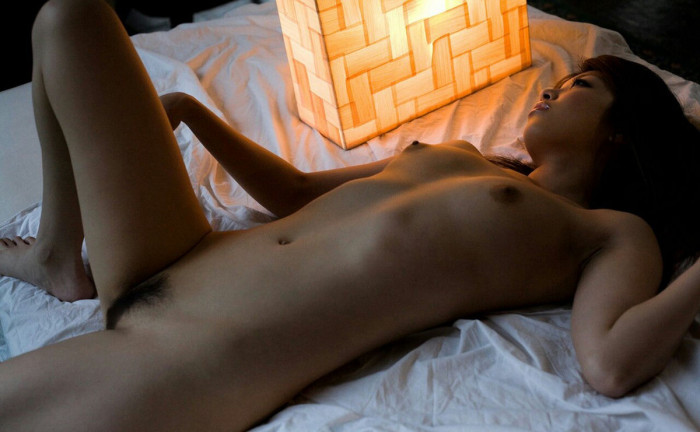 Already Asiansexy naked girl take picture in the room opinion