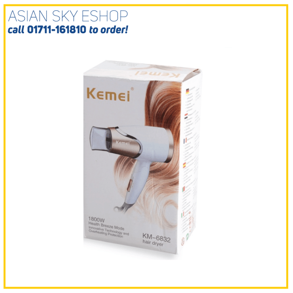 KEMEY Hair Dryer KM-3365