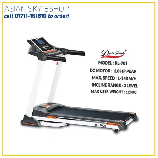 Motorized Treadmill KL 901