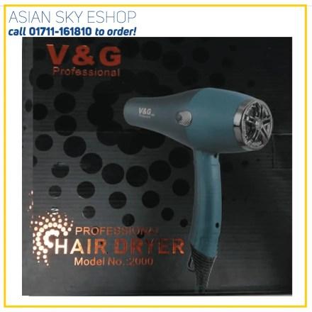 V&G Professional Hair Dryer Model2000